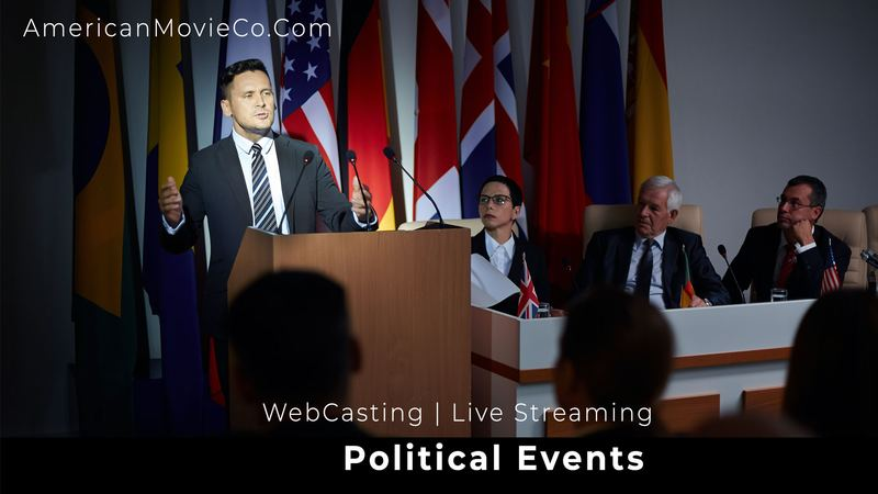 webcasting political events