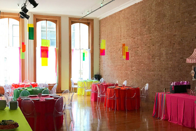 bat mitzvah party decor