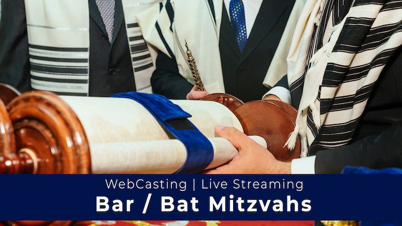 Live stream the bar/bat mitzvah